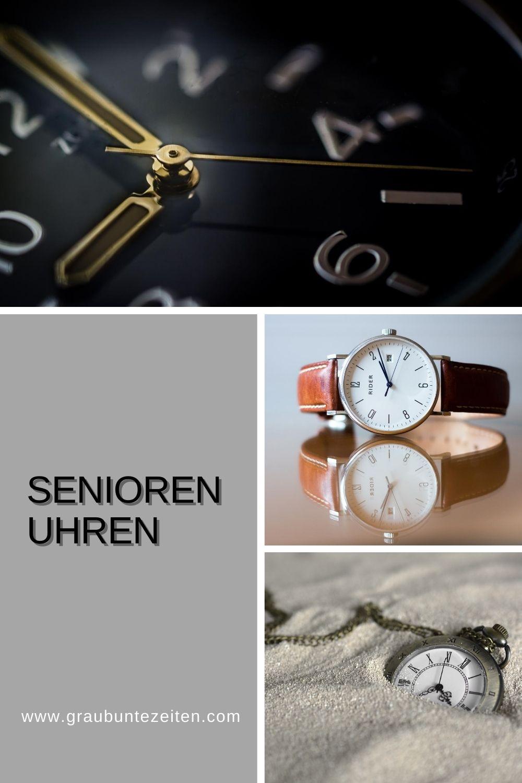 Senioren Geschenke - Seniorenuhren
