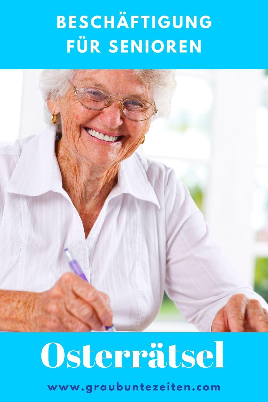 Osterrätsel für Senioren zum Ausdrucken