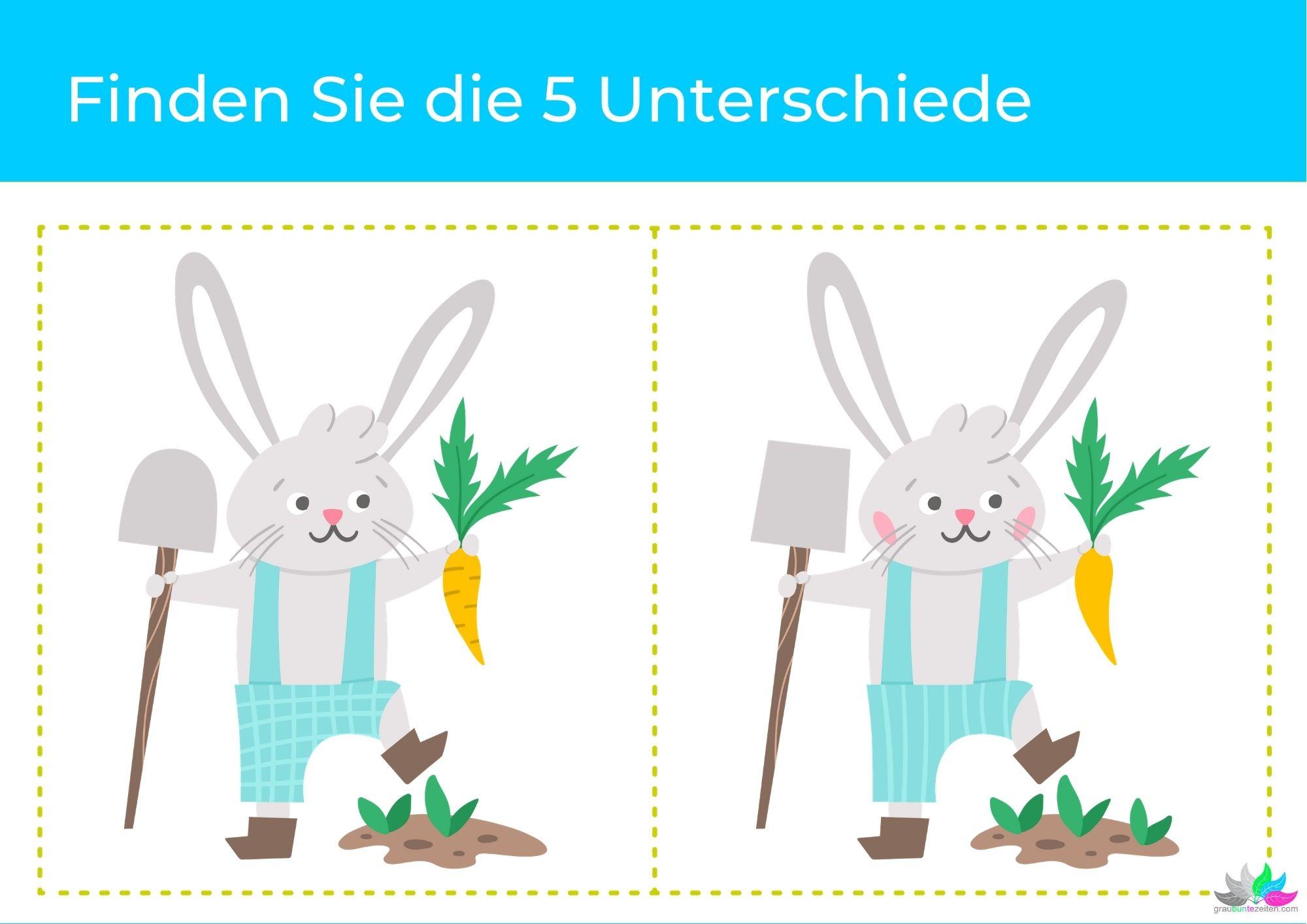 Rätsel zum Ausdrucken Ostern (2)